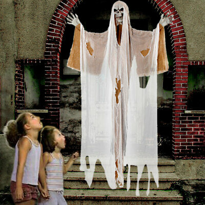 Halloween Decorations Hanging Ghost Witch Decorations Horror Scary Props -190CM