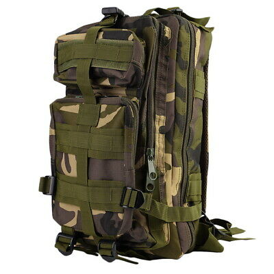 30L Military Tactical Backpack Molle Rucksacks Camping Hiking Trekking Bag MY