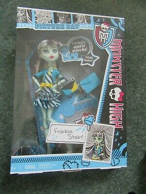 Boxed Mattel Monster High Picture Day: Frankie Stein Doll.