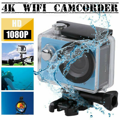 Ultra Full 4K WIFI Sports Action Camera Ultra HD Waterproof DV Camcorder 1080P W