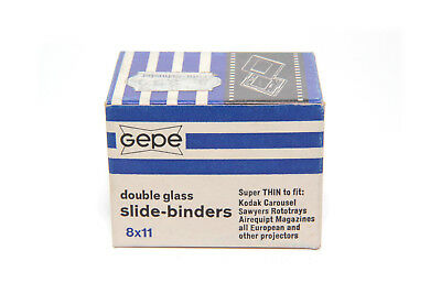 Gepe Dia Frame Slide Binders with 8x11 20pcs Double Glass