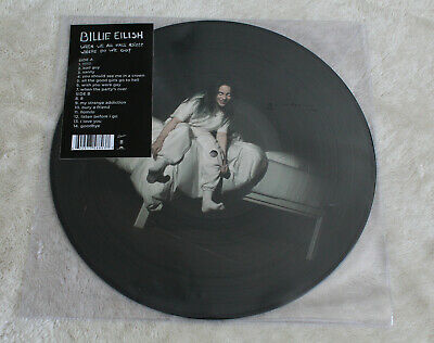 Billie Eilish When We All Fall Asleep, Where Do We Go? Spotify Picture Vinyl New