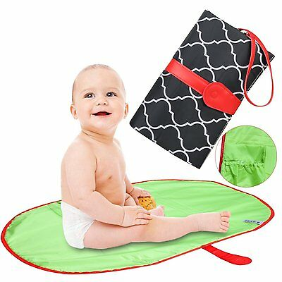 ZesGood Baby NEW BORN Portable Nappy Changing Mats Hanging Mat Diaper NAPPIES