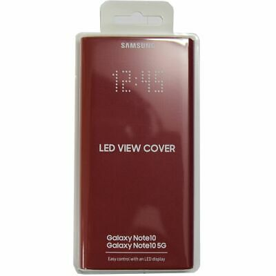 Samsung Official LED View Wallet Cover EF-NN970 ( Red ) for Galaxy Note10