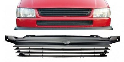 VW T4 96-03 Front badgeless grill Long Nose center grille black ProjektZwo
