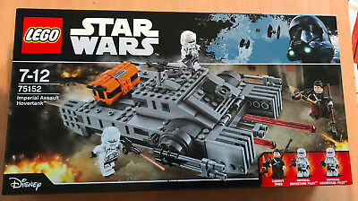 Lego Set Boite Neuf Star Wars Vaisseau 75152 Imperial Assault Hovertank Chirut
