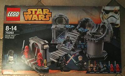 Lego Set Boite Neuf Star Wars Vaisseau 75093 Death Star Final Duel Dark Vador