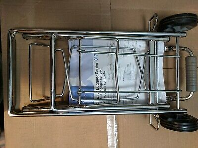 Sparco Products 01753 Compact Luggage Cart
