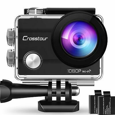 Caméra Sport 1080P Full HD 12MP Wi-FI Étanche 30M 170° Grand Angle + 20 Access..