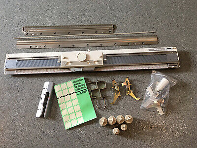 Brother KR-850 Ribber for standard Knitting Machine  Ex Cond! All parts & manual