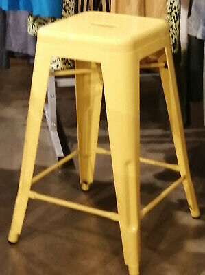 Super Tolix Style Rustic Vintage Metal Bar Stool Kitchen Used 66Cm Pdpeps Interior Chair Design Pdpepsorg