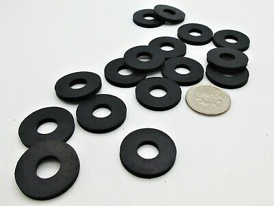 25mm Metric Rubber Washers 38mm OD X 25mm ID X 3.2mm Thick
