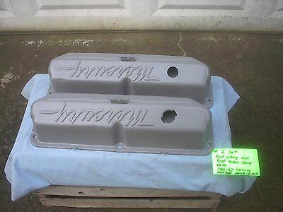 CNC MACHINED BLUE Thunder FE Competition Valve Covers, With