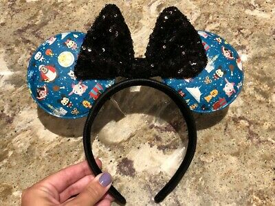 Disney Parks Designer Collection Loungefly Minnie Mouse Ears Headband NEW