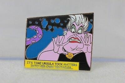 Disney Parks Pin Villains Comic Book Mystery Ursula Little Mermaid
