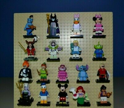 LEGO 71012 Disney Series 1 Collectible Minifigures Complete Set of 18