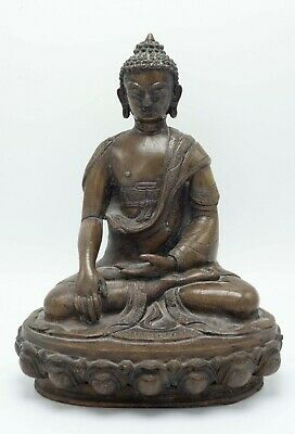 Rare Antique Large Asian Chinese Bronze Buddha Statue
