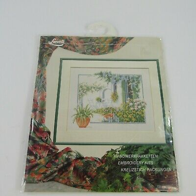 """New Lanarte 33926 Life Style Collection Embroidery Kit 12"""" x 10"""" DMC"""