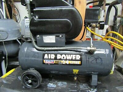 24 Litre Air Compressor 8 BAR 115 PSI Electric