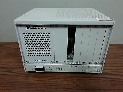 National Instruments Pxi - 1033 Power Supply Chassis