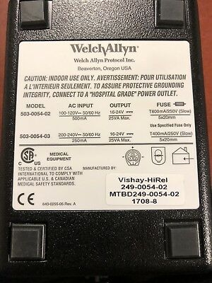 NEWWelch Allyn ProPaq Charger for Encore Series Monitors- UsedMODEL 503-0054-02