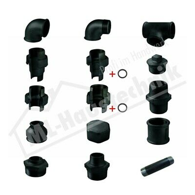 Thread Fitting Black Assortment Malleable Iron Od. Iron Various Sizes & Shapes