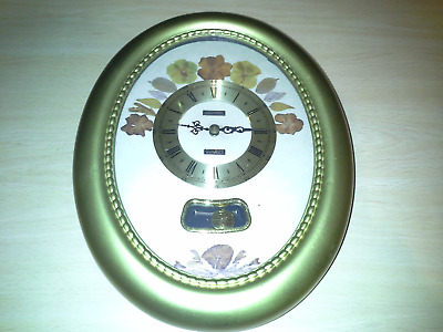 Vintage Metamec Pendulum Wall Clock Quartz Movement Made in England