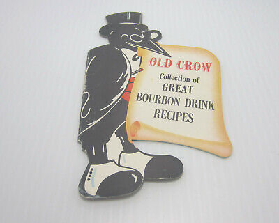 Old Crow Bourbon Drink Recipes Booklet