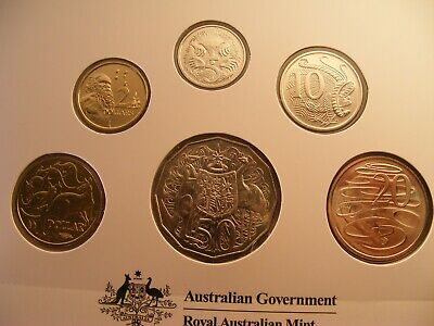 2019 Australia - Effigies Over Time Of Qeii - 6 Coin Uncirculated Mint Set
