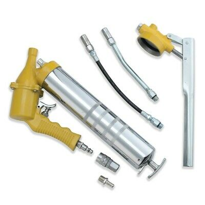6 PC Air Grease Gun Set | Pistol Grip 1200-6000 PSI