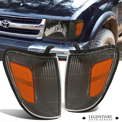 For 97-00 Tacoma Off Road Front Driving Corner Light Lamp Black Housing Assembly