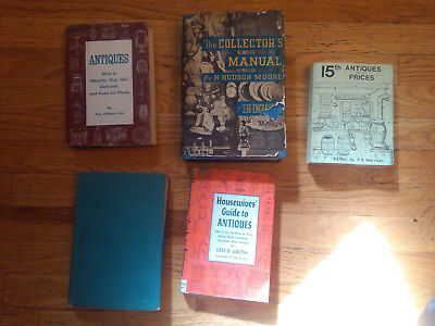 lot of collection price guides to antiques 1980 1959 1946 1960 1935