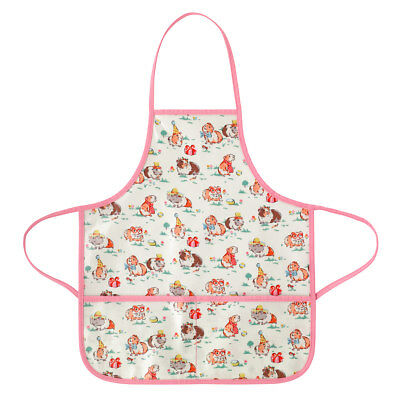 Bnwt Cath Kidston Pets Party Kids Wipe Clean Apron Guinea Pig Hamster Childrens