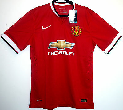 Manchester United Shirt BNWT Home 2015/2016 L Large 42 - 44 15/16 Man Utd