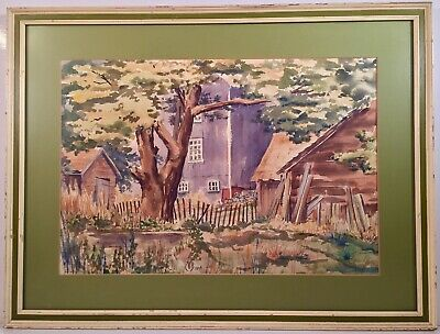 Listed American Artist Charles Ephraim Burchfield (1893-1967) Signed Watercolor