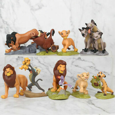 9 Pcs Lion King 2019 Movie High Detail Figures Set Cake Toppers Party Gift Toys
