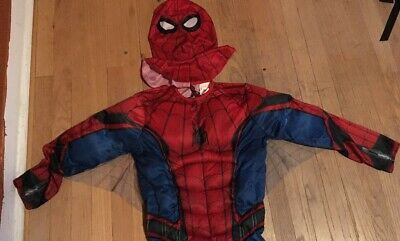 The Amazing Spiderman 2 CHILD Costume Kit Shirt Mask Size M Medium 8-10 NEW