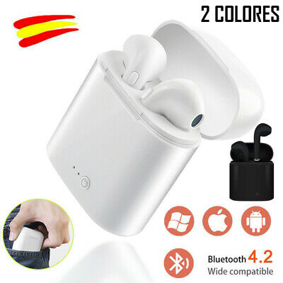 Auriculares inalambricos Bluetooth Wireless Base Carga Original IOS Android