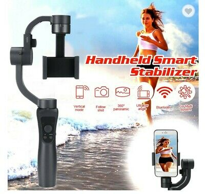 3-Axis Handheld Gimbal Stabilizer for iPhone Samsung Android Smartphone (black)