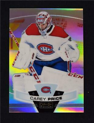 2019-20 UD O-Pee-Chee OPC Platinum Preview #P-7 Carey Price - Montreal Canadiens