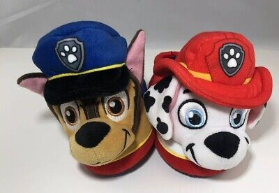7//8 or 9//10 PAW PATROL CHASE POLICE PUP Comfy Slippers NWT Toddler/'s Sizes 5//6