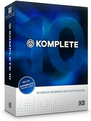 Komplete 10 by Native Instruments