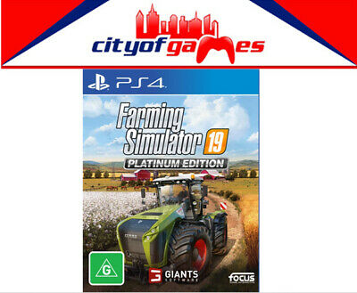 Farming Simulator 19 Platinum Edition PS4 Game Brand New Pre Order