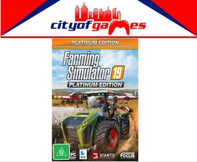 Farming Simulator 19 Platinum Edition PC Game Brand New In Stock Now