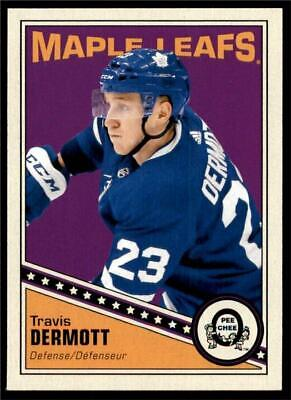 2019-20 UD OPC O-Pee-Chee Retro Base #150 Travis Dermott - Toronto Maple Leafs