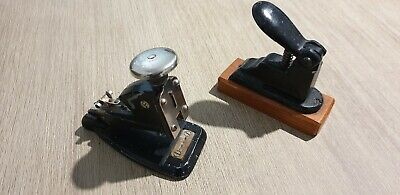 Vintage Stapler & Hole Punch