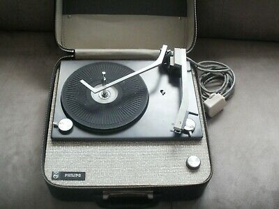 vintage Philips portable record player.