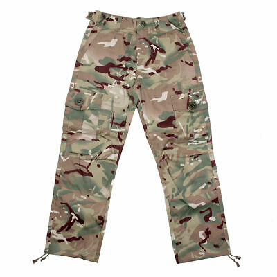 Kids Army Multi Terrain Camouflage Combat Trousers - Ages 3-13 Years Available