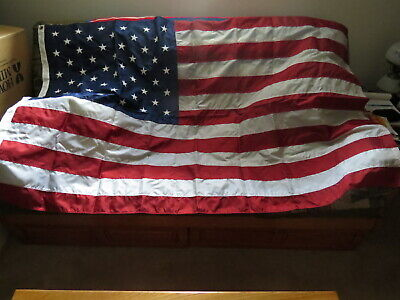4'x 6' American Flag US Flag 420D Polyester Embroidered Stars Brass Grommets.NEW