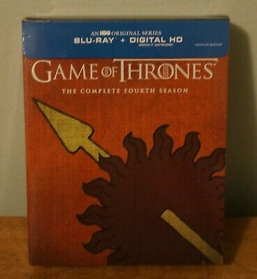 New! Game Of Thrones-The Complete Fourth Season Blu-ray [Martel House]